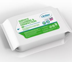 All Surface Cleaning & Sanitising Wipes (Pack of 100)