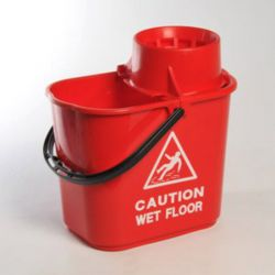 Vileda Bucket and cone, Red