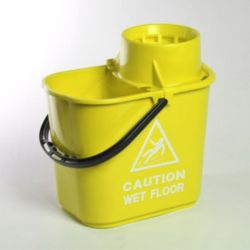 Vileda Bucket and cone, Yellow