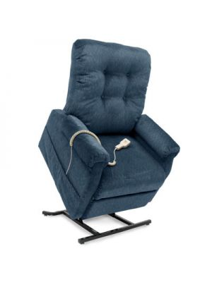 Rise Recliner Chair with Button Back (Single Motor)