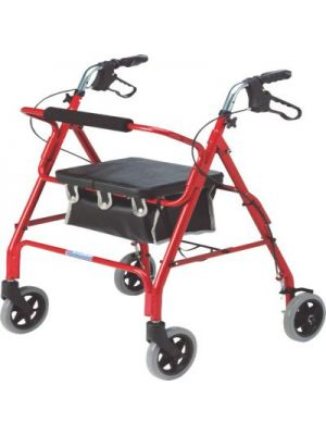 Lightweight Rollator, 4 Wheeled Walker