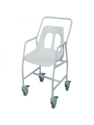 Shower Chair, Mobile, With Wheels