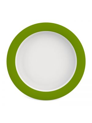 Plate with Sloped Base - 26 cm (Melamine) - Various Colours