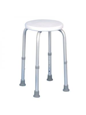 Aluminium, Adjustable Shower Stool