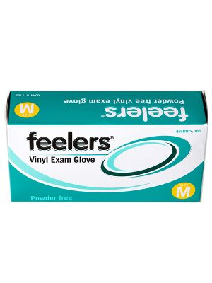 Clear Vinyl Powder Free Gloves, Case 1000