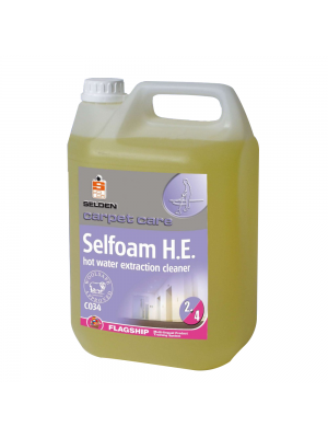 Selfoam Hot Water Extraction Carpet Cleaner, 5 Litres