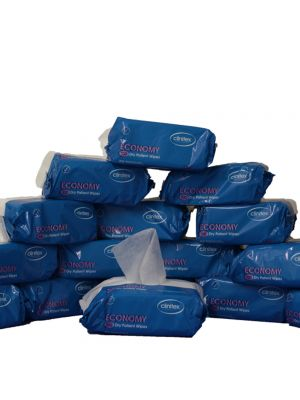 Economy Dry Patient Wipes - 24 Packs