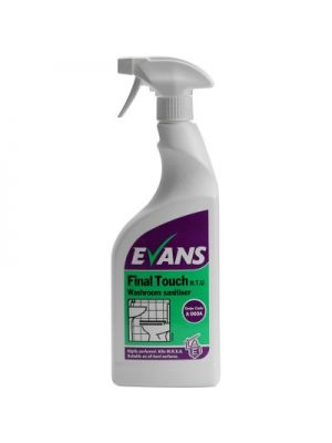 Final Touch Washroom Bacterial Cleaner (6 x 750ml)