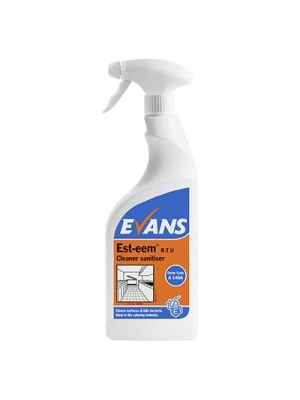 Evans Est-eem Cleaner & Sanitiser, 6 x 750ml