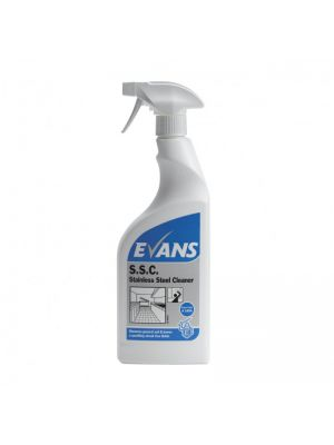 Evans S.S.C Stainless Steel Cleaner, 6 X 750ml