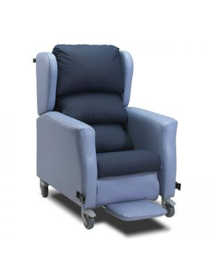Large Wheeled Recliner Chair