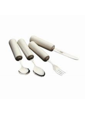 Queens Cutlery Caring Set - Knife, Fork, Spoon & Teaspoon