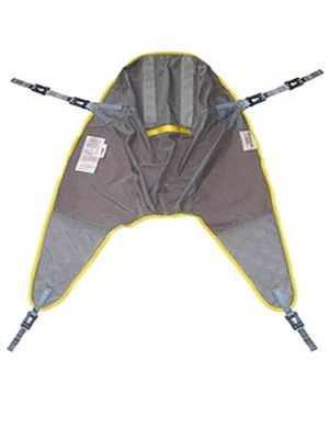 High Easy Polyester Sling, Dual Clip and Loop with Padded Legs