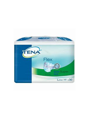 Tena Flex Super Pants (Medium, Large & Ex Large) - Pkt/Case