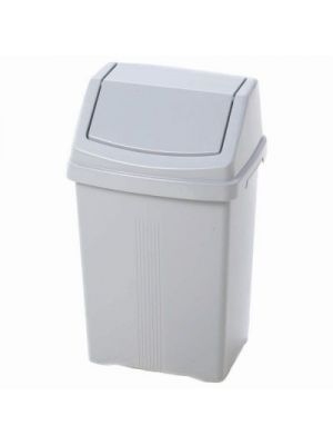 Plastic Swing Top Waste Bin, 25 Litre