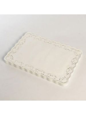 Lace Effect Tray Mats Covers 16 x 12