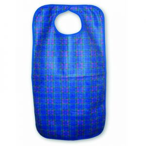 Snap Closure Clothing Protector, Deluxe Tartan