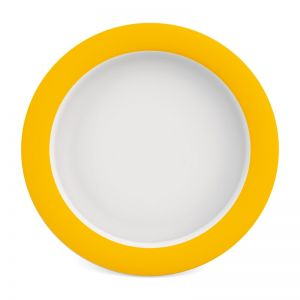 Plate with Sloped Base - 20 cm Melamine)