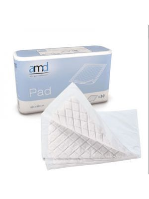 AMD Underpad Incontinence Sheets 60 x 90cm (Super) - Pkt/Case