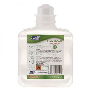 Deb Instant Foam Hand Sanitiser (6 x 1000ml)  *****OUT OF STOCK ******