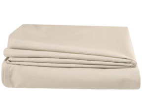 Single FR Polyester Flat Sheet- Cream