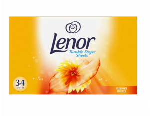 Lenor Fabric Tumble Dryer Sheets Summer Breeze