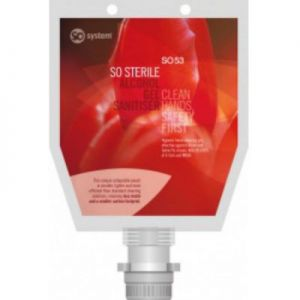 SO Sterile Alcohol Gel Sanitiser (1000ml x 3)  ******OUT OF STOCK *******