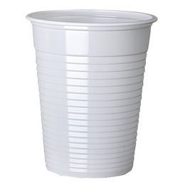 White Plastic Cups , Case of 2000