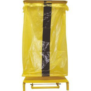 Yellow Refuse Sacks with Black Stripe (Tiger Bags)