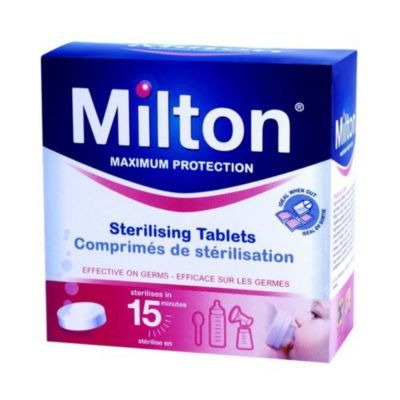 Milton Sterilising Pack of 28 Tablets Steriliser for Cold Water