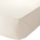 Single FR Polyester Fitted Sheets- Cream