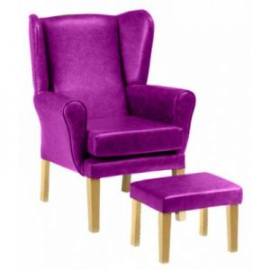 York Wing High Seat Chair