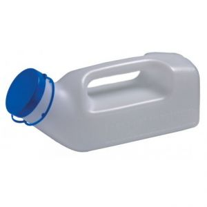Male Urinal Bottle with Handle, 1 Litre