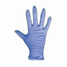 Blue Vinyl Powder Free Gloves, Extra Large, Pkt 100 *Please call For Price*