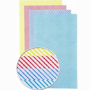 All Purpose Cleaning Cloths, Pack 50 (Various Colours)