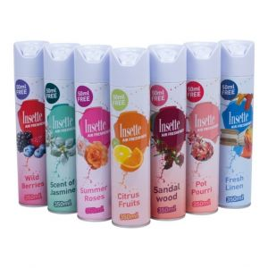 Insette Air Freshener 12 x 330ml - various Scents